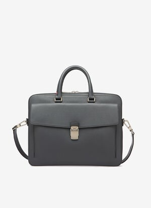 GREY BOVINE Business Bags - Bally