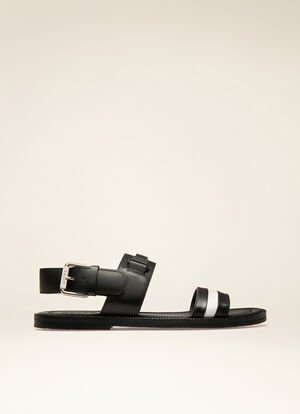 BLACK CALF Sandals and Slides - Bally