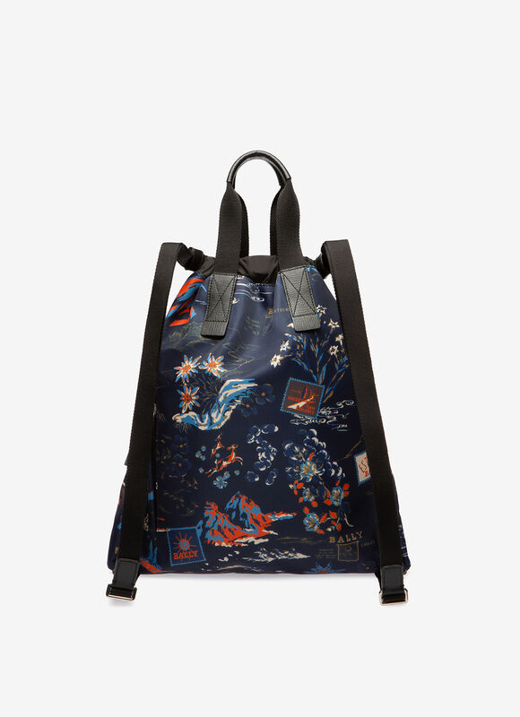 BLUE FABRIC Backpacks - Bally
