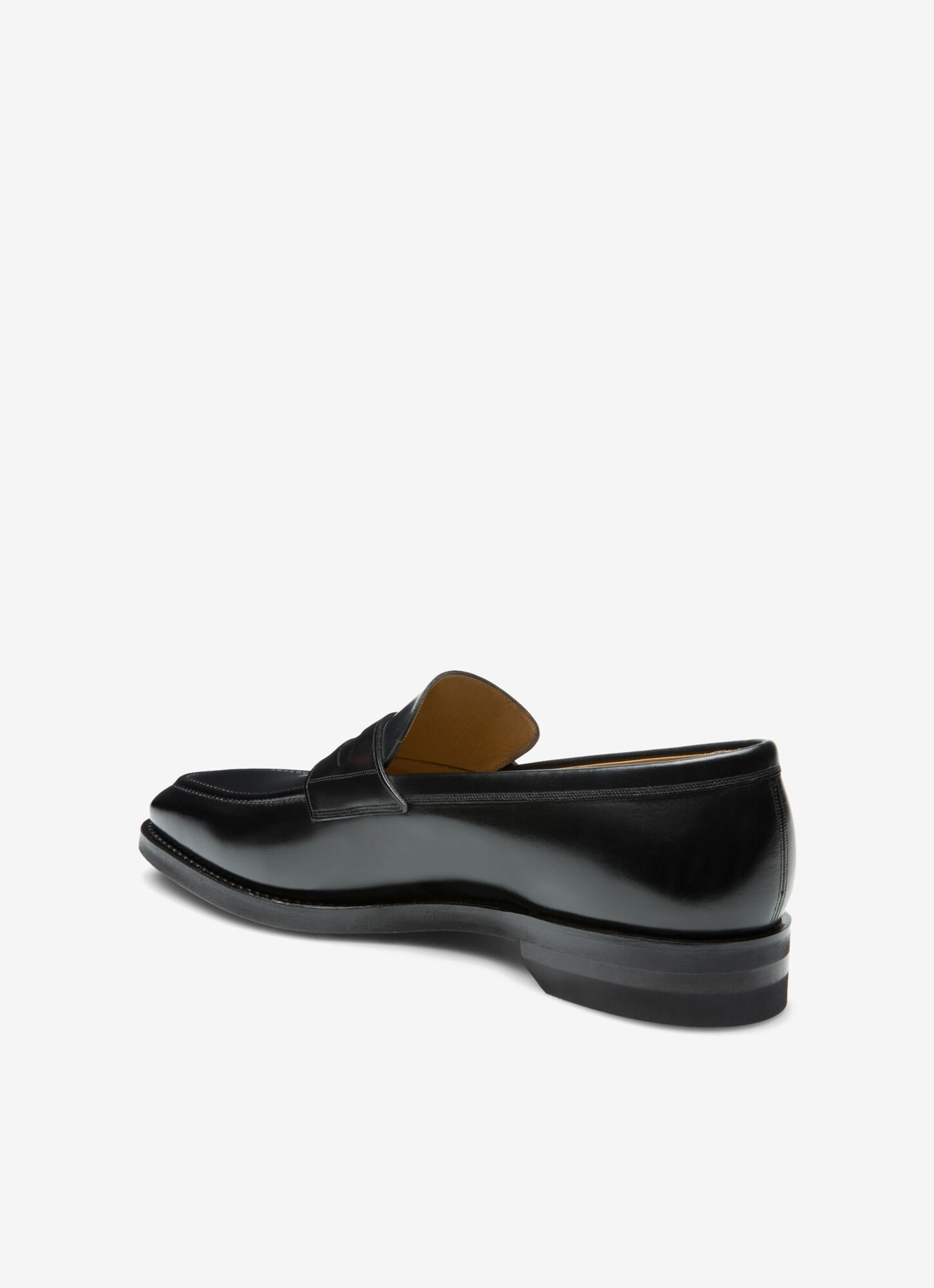 black loafer sneakers