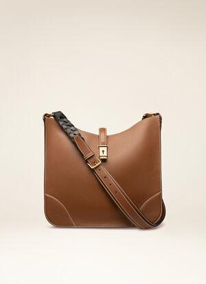 BROWN CALF Shoulder Bags - Bally