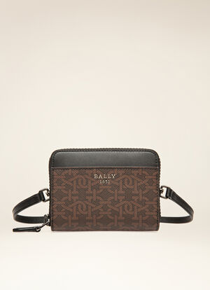 BROWN SYNTHETIC Wallets - Bally