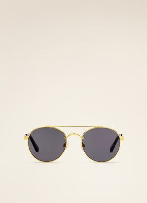 YELLOW METAL Sunglasses - Bally