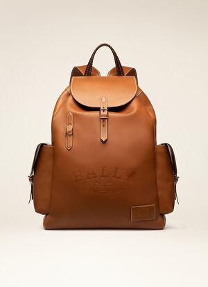 BROWN CALF Backpacks - Bally