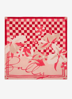 RED SILK Scarves - Bally