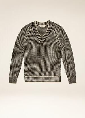 MULTICOLOR MIX WOOL/COTTON Knitwear - Bally