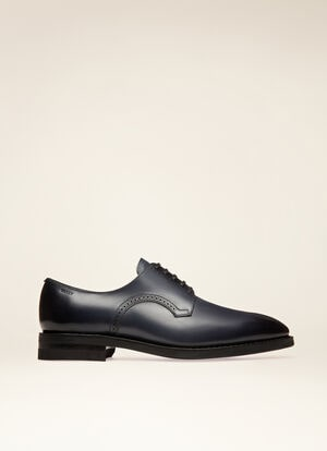 NAVY CALF Lace-Ups and Monks - Bally