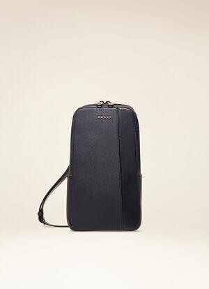 BLUE BOVINE Messenger Bags - Bally