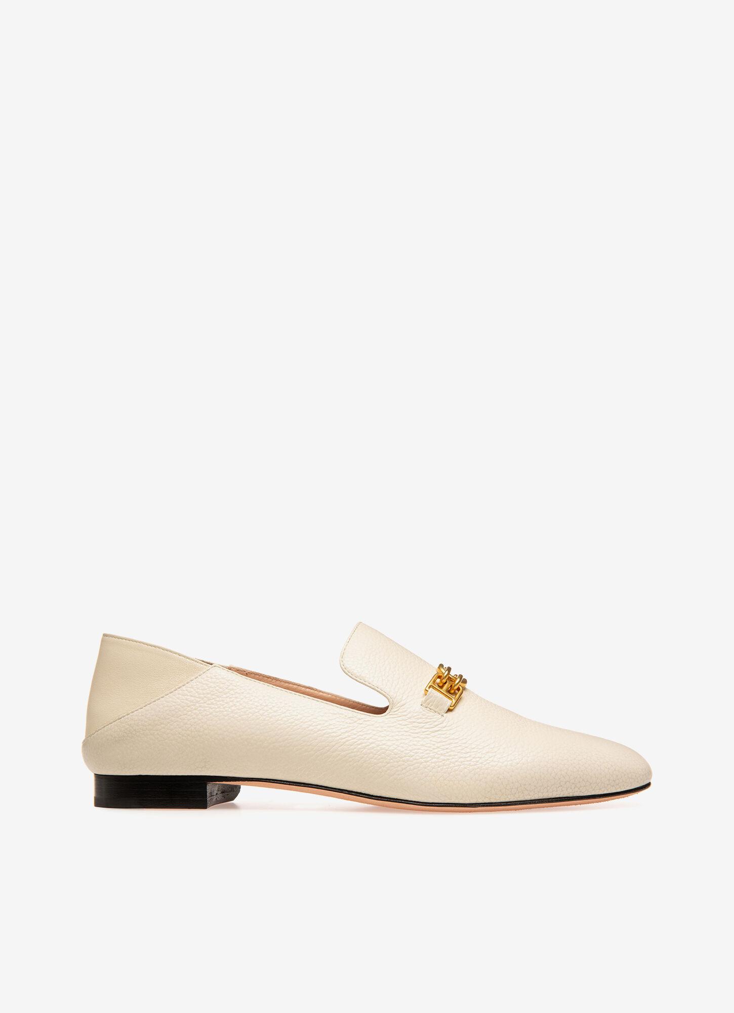 Darcie| Womens Loafers | Bone Leather