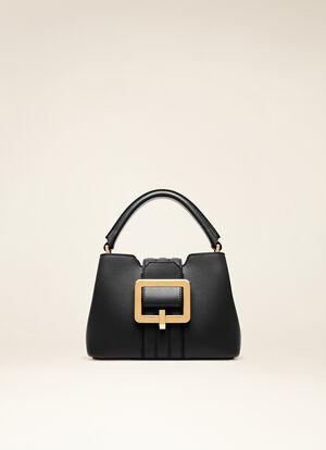 BLACK BOVINE Top Handle Bags - Bally