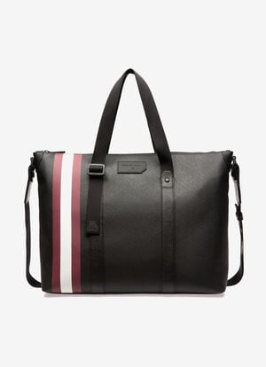 BLACK SYNTHETIC Travel Bags - Bally