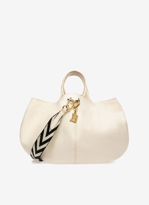 WHITE CALF Tote Bags - Bally