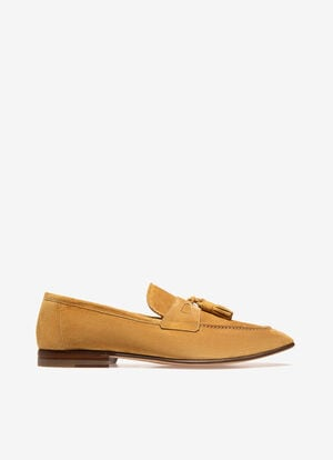 BEIGE CALF Loafers and Moccasins - Bally