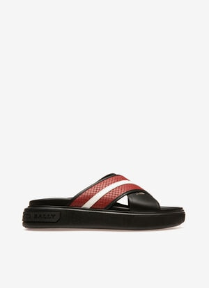 RED CALF Sandals and Slides - Bally