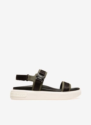 GREY CALF Sandals and Slides - Bally