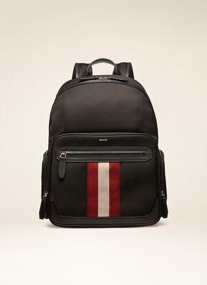 BLACK FABRIC Backpacks - Bally