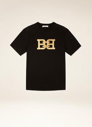BLACK COTTON Shirts and T-Shirts - Bally