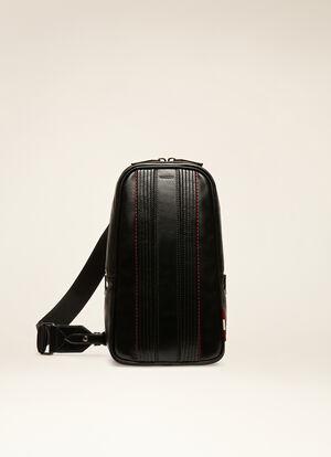 BLACK CALF Messenger Bags - Bally