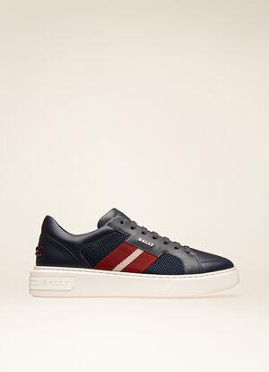 BLUE CALF Sneakers - Bally