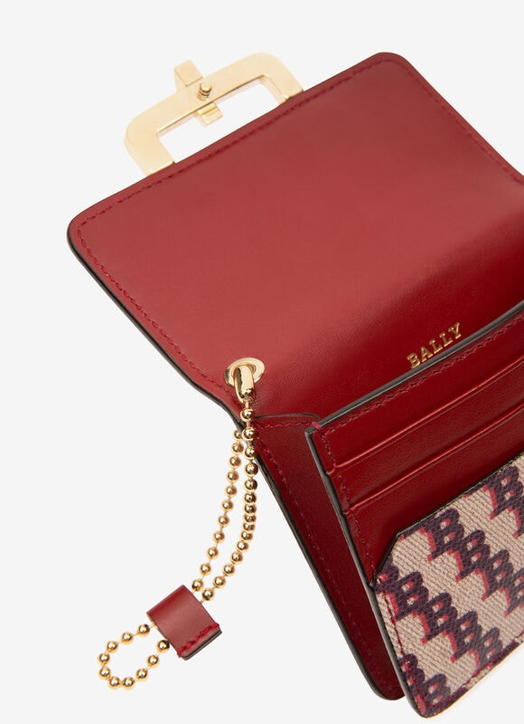 RED FABRIC Wallets - Bally