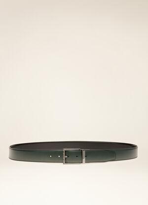 GREY BOVINE SPLIT Belts - Bally