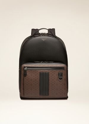 BROWN SYNTHETIC Backpacks - Bally