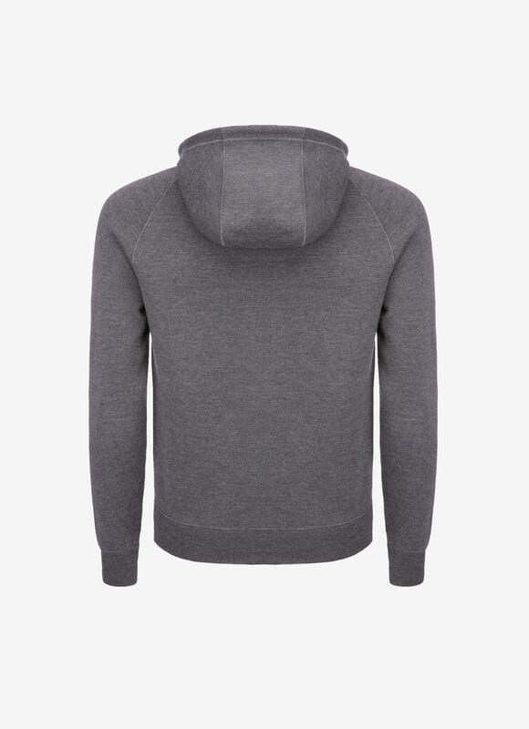 GREY WOOL Knitwear - Bally