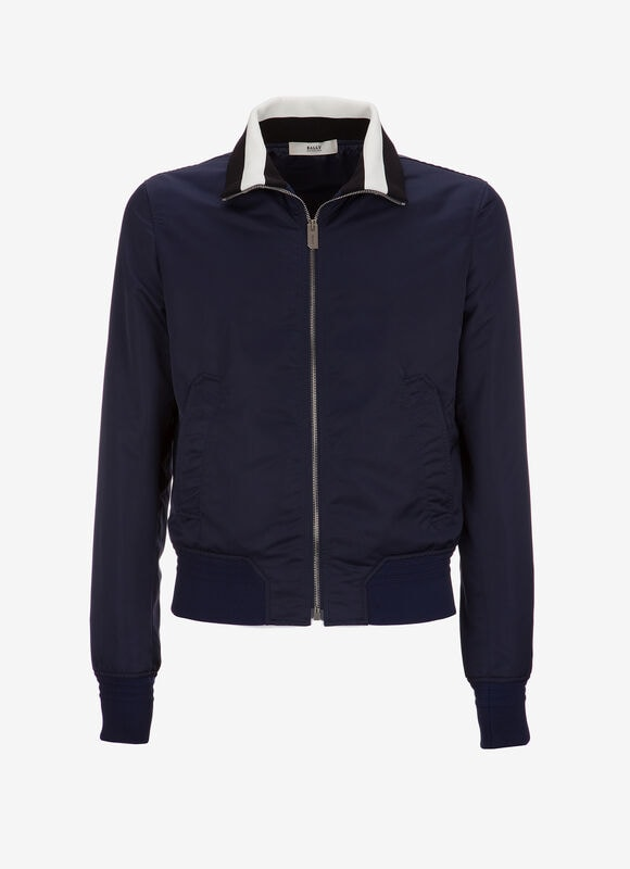 BLUE POLYESTER Outerwear - Bally