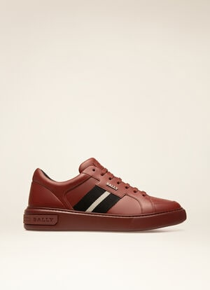 RED CALF Sneakers - Bally