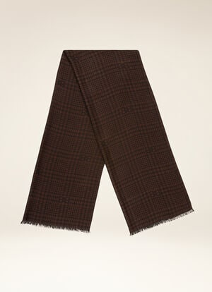 BROWN MIX CASHMERE Scarves - Bally