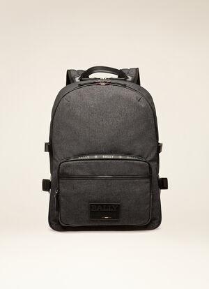 GREY FABRIC Backpacks - Bally