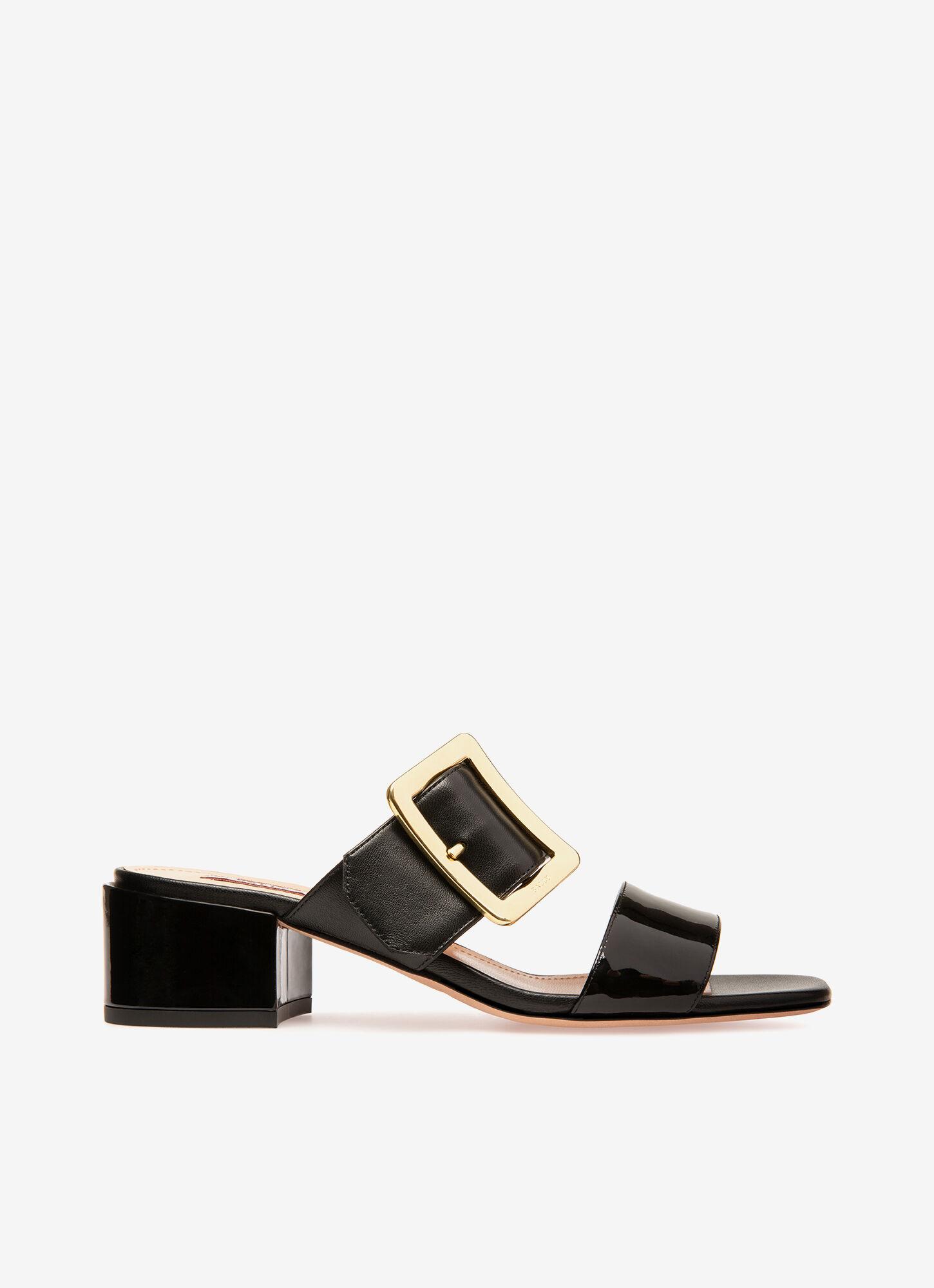 Jeny  Womens Mule Sandals   Black