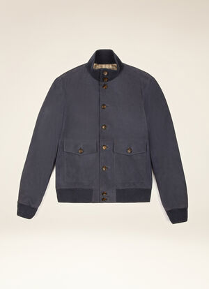 BLUE GOAT Leather - Bally