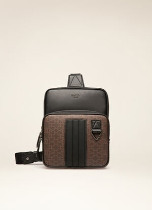 BROWN SYNTHETIC Messenger Bags - Bally