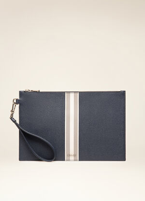 BLUE CALF Clutches & Portfolios - Bally