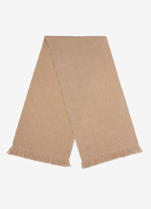 BEIGE MIX WOOL Scarves - Bally