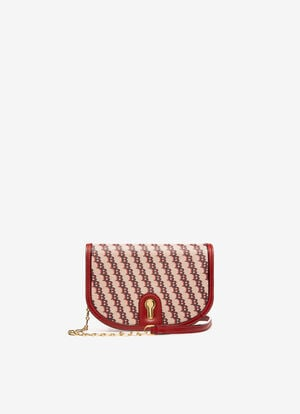 RED FABRIC Mini and Belt Bags - Bally