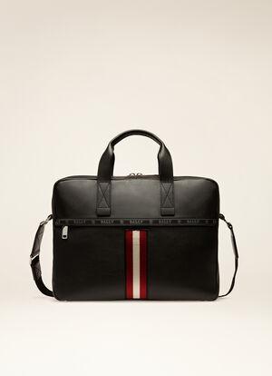 BLACK BOVINE Business Bags - Bally