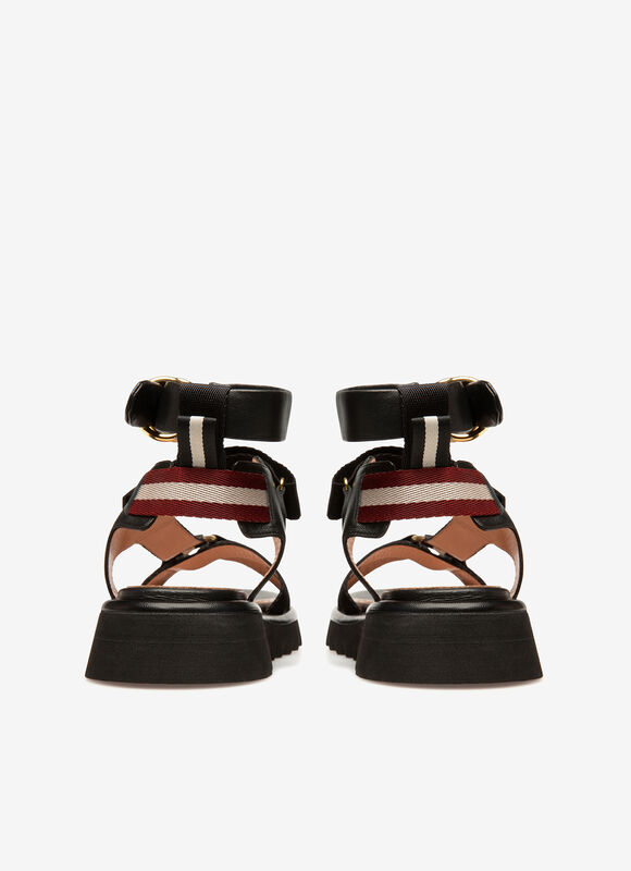 BLACK LAMB Sandals - Bally