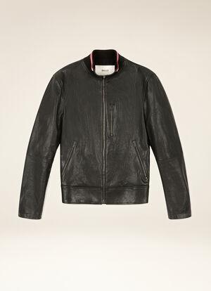BLACK LAMB Leather - Bally