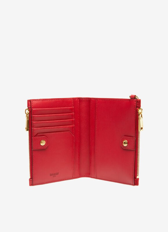 RED NYLON Wallets - Bally