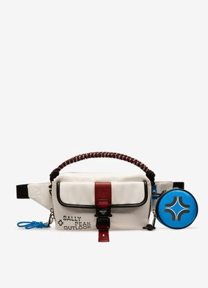 WHITE NYLON Belt Bags - Bally