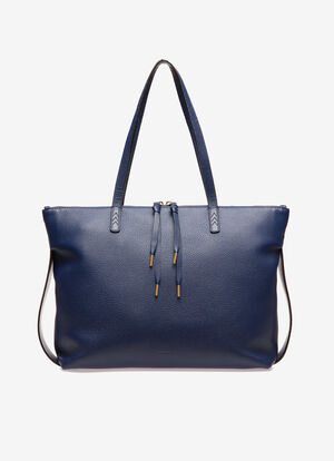 BLUE BOVINE Tote Bags - Bally