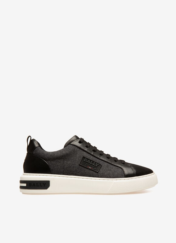 GREY MIX SYNT Sneakers - Bally