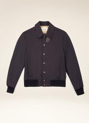 BLUE POLYESTER Outerwear - Bally