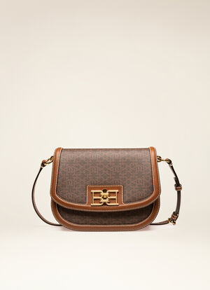 BROWN SYNTHETIC Cross-body Bags - Bally