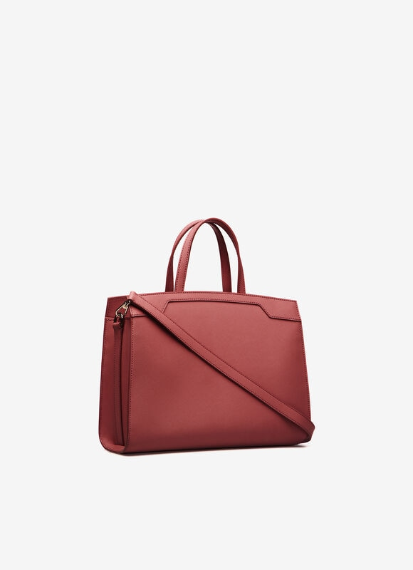 RED BOVINE SPLIT Shoulder Bags - Bally
