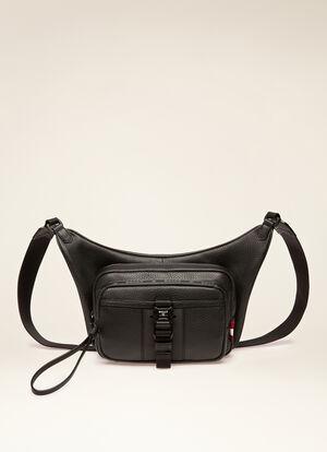 BLACK BOVINE Messenger Bags - Bally