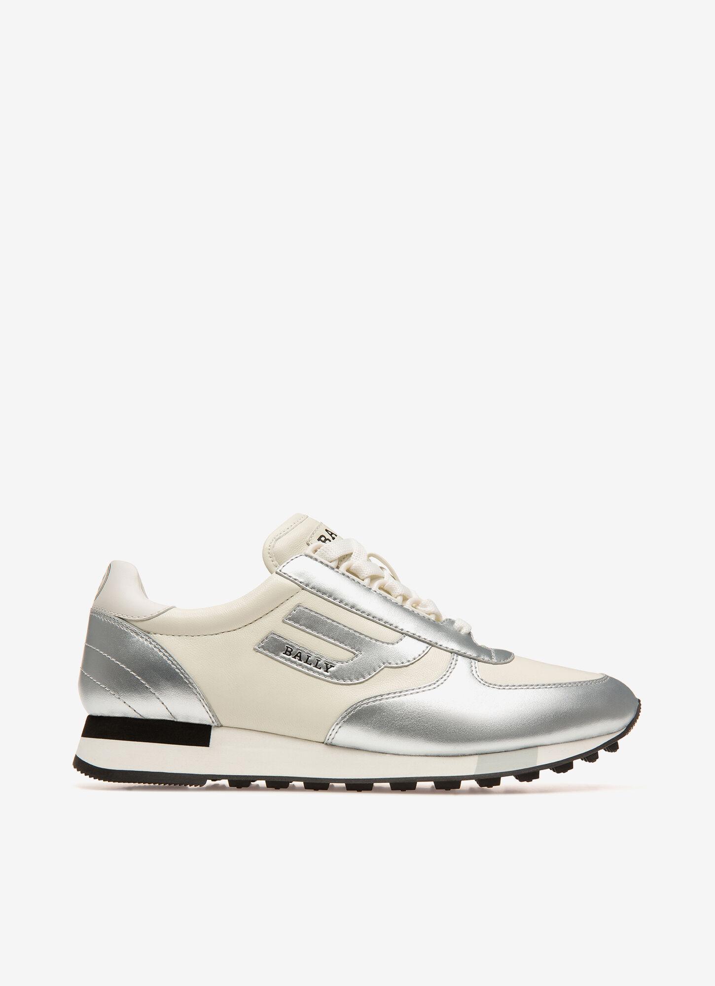 Gavinia| Womens Sneakers | Silver