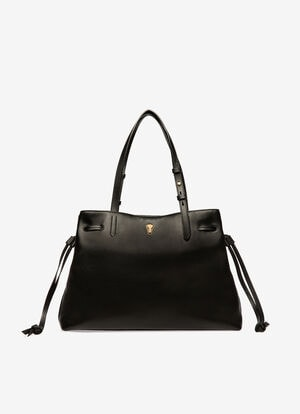 BLACK CALF Tote Bags - Bally